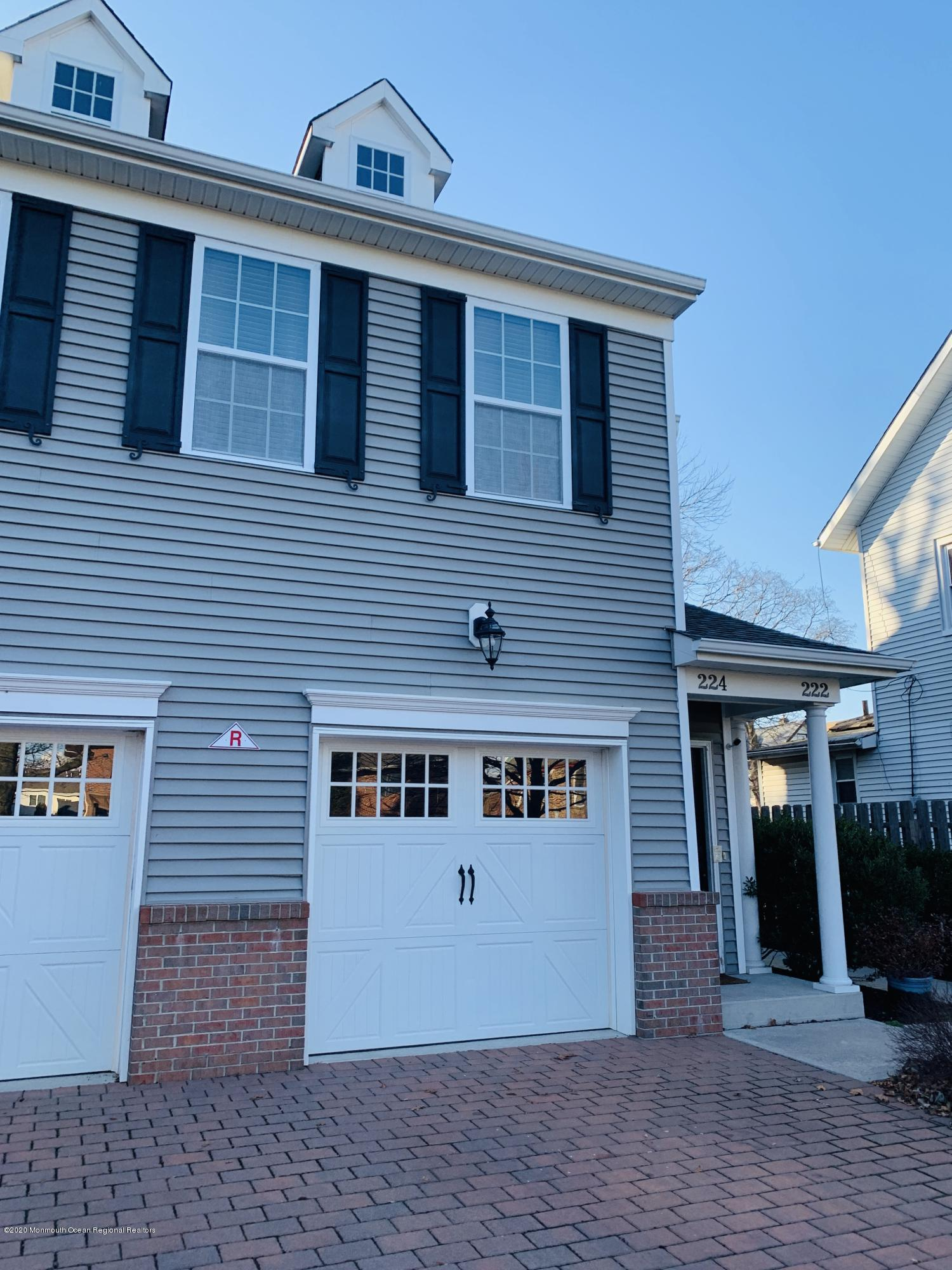 Beautifully newly renovated townhouse with garage!  Coolest part of Red Bank near train station, new Sickles, farmers market and so much more!