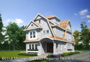 Front Rendering Designed by one of the most prominent Architectects in the Area