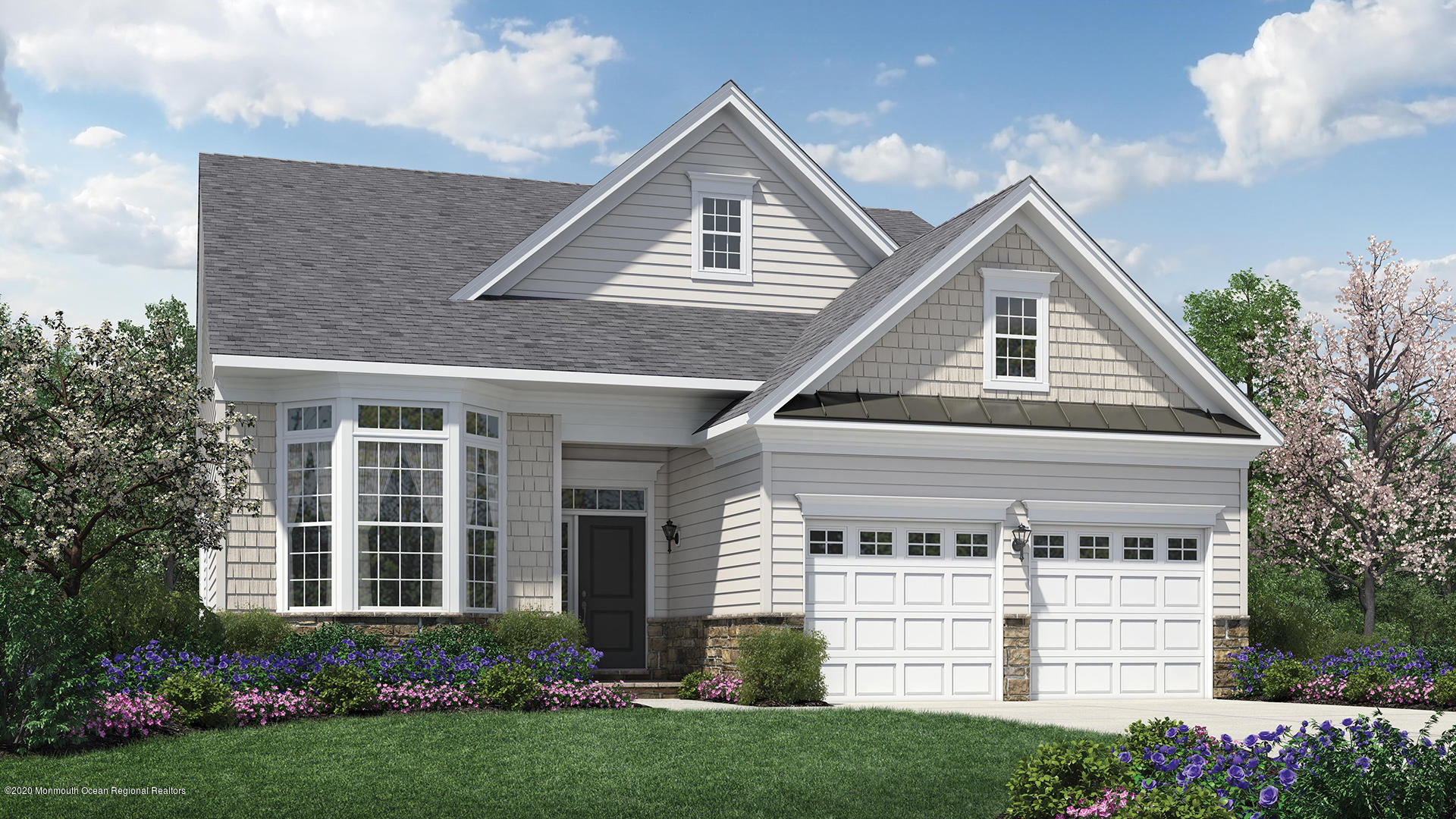Houghton Eastern Shore Quick Delivery Home, new construction, February 2021 delivery. Finish selection is complete and included in this exceptional price.The roomiest single story floor plan offered is just under 2,000 square feet of luxury living. There is a large kitchen which is open to the expanded Family room with cozy gas fireplace. The kitchen boasts a large island for seating and storage and is perfect for family gatherings and entertaining. This home sits on a very desirable interior site that backs up to open space leaving neighbors far off in the distance. The sunlit Study ILO LR makes for a good size home office with walk-out bay window. This home is finished off with a paver front walk, expanded garage with stairs to storage and more!