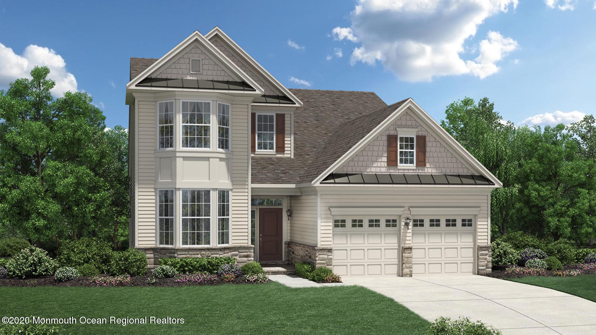 Don't miss out on the opportunity to make Sea Breeze at Lacey home! Come take a look. Only 4 homes remain. This to-be-built Quick Delivery Hammond Eastern Shore will be ready for a summer 2021 delivery. The Eastern Shore elevation features two beautiful walk-out bays in the front rooms, upstairs and down. This home has a spacious two-story expanded family room with gas fireplace, formal dining room and a magnificent master suite with tray ceiling, walk-in closet and Designer bath option. With 2 additional bedrooms & baths and a study ILO Living room this home has it all! The expanded garage has walk-in attic storage above.
