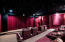 When you step into this room you can help but notice how quiet the outside world is! This is a TRUE movie theater experience - right down to the popcorn machine!