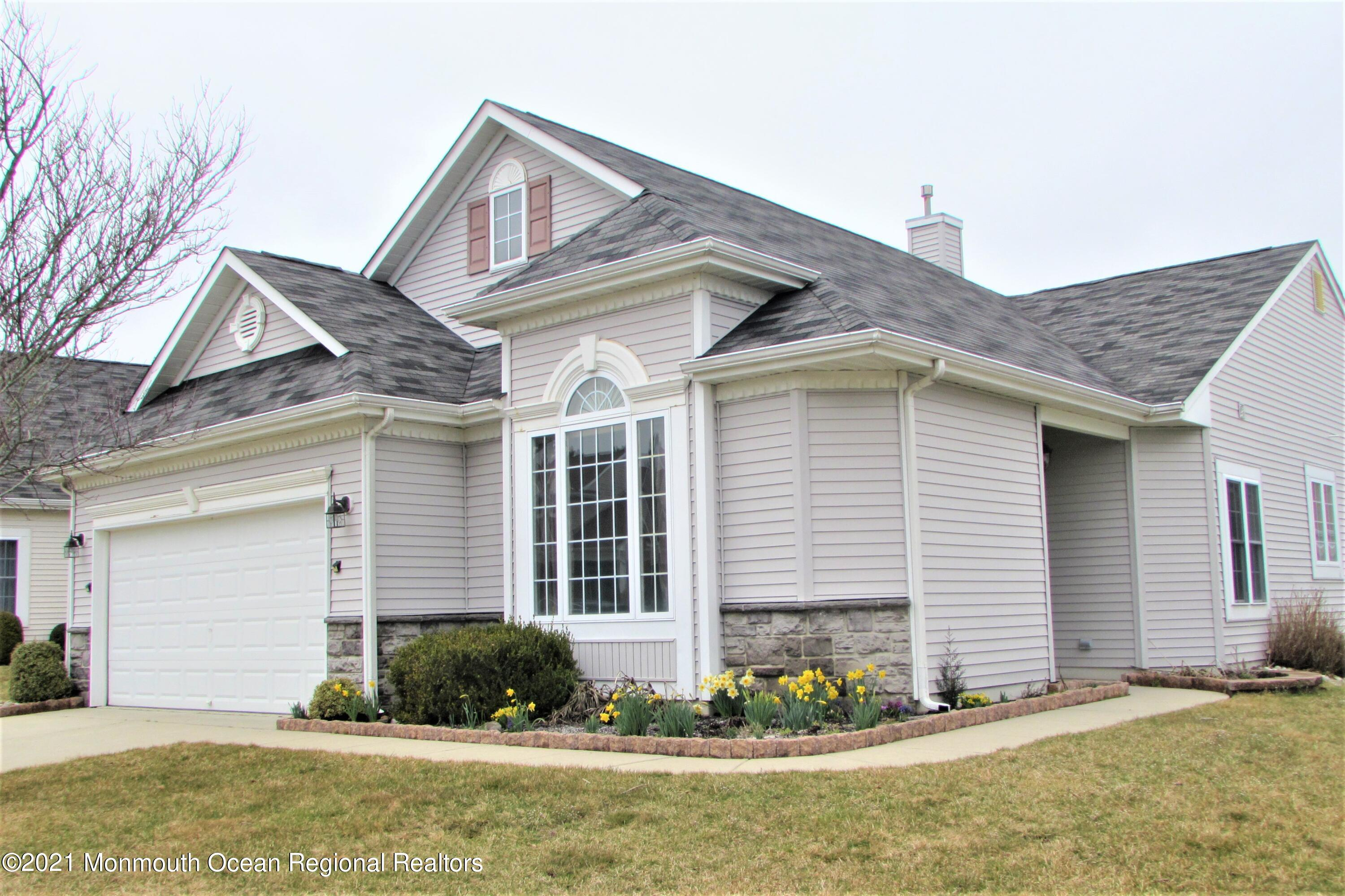 2 bedroom Augusta located in Greenbriar Oceanaire Golf and Country Club. Resort style living. Indoor and Outdoor Pool, 38,000 Square foot club house, bar, restaurant, fitness center. Golf Tennis, Bocce and Pickleball.  This home features a covered patio and a  large screened in patio. Please follow NJ state Covid Guidelines. Release must be signed.