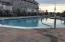 Quiet morning swim