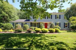 Lovely Colonial Home in Hayward Hills section of Holmdel.
