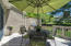 Enter the 15' x 12' wooden deck from the back hallway or sitting room. TEC barbecue with gas-line.