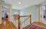 Hardwood floors throughout, and under the master bedroom and sitting room carpet as well.