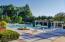 Beautiful landscaped pool area.