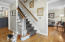 Hardwoods throughout the home