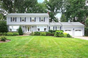 CLASSIC CENTER HALL COLONIAL WITH ALL THE CHARM & ELEGANCE!