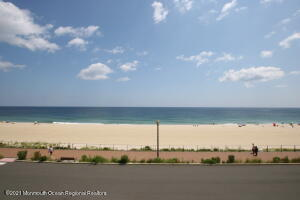 Don't miss this fabulous 2 bedroom , 2.5 bath two-story condo in Oceanview Towers! This stunning home with 2-private balconies offers pristine living space to soak up beachfront views and vibrant Long Branch boardwalk!