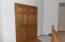 Spacious Foyer with Closet