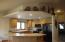 Decorator Ledges above Kitchen too