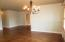 Lovely refinished Hardwood Floors