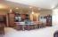 Maple Cabinetry, Recessed lighting & kitchen appliances stay.