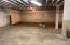 basement storage area