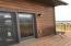 Patio door to deck