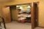 Large closet with organizer