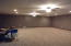 HUGE Family rm in basement-great area for an in-home theatre