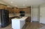All soft close drawers & doors, island area for bar stools.