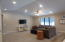 Bright/open & spacious. Vaulted Ceiling