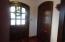 Cherrywood floor & a cedar closet.