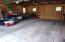 Insulated, & Drain-tiled floor in Garage
