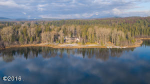 On the shores of Whitefish Lake
