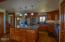 Custom kitchen with ample storage