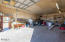 1,200 SF Barn heated by Woodstove with concrete floors