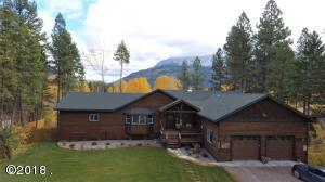 Flathead River slough frontage and Teakettle Mountain views