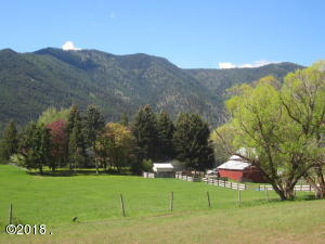 Ranch with Clark Fork River Frontage and US Forest Boundary