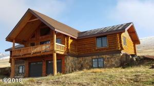 Plains Log home