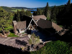 Great setting and a home on 4 plus acres