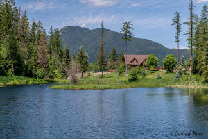 Pond and Home