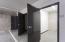 Private storage room.