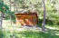 Back yard/Storage shed