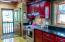 Main level kitchen/back door