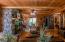 Main level living room/Back door