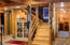 Lower level living room/Stairs
