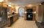 Kitchen with beautiful hickory cabiinets