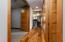 Hardwood floors from front door