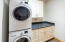 Laundry Room with Stacking Washer / Dryer