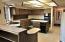 Kitchen, includes built in desk