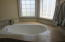 Guest bedroom bathtub