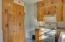 Ample cabinetry and storage