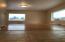 Tiled entry/living room