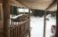 Deck view of outbuilding
