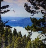 WHITEFISH LAKE STRETCHES TO CITY..MOST VIEWS ARE SIMILAR FROM THIS MTN RIDGE