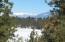 View of Frozen Lake Below