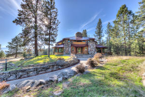 Diamond Rock Ranch with 60 acres, creek, meadows, guest house, barn, and more.